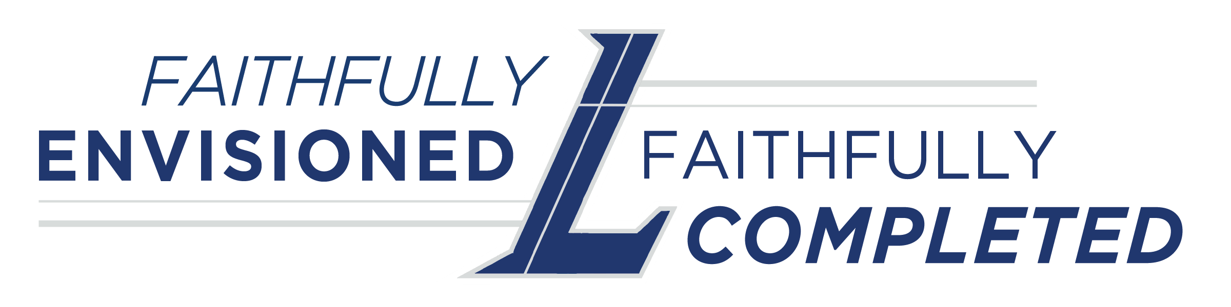 Logo: Faithfully Envisioned & Faithfully Completed